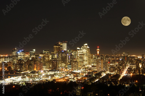 Canvas Prints Arizona Calgary Skyline