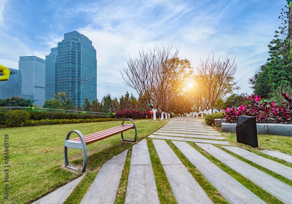 Fototapety, obrazy: Chongqing Jiangbeizui Financial City