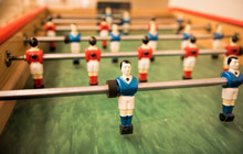Colorful Foosball