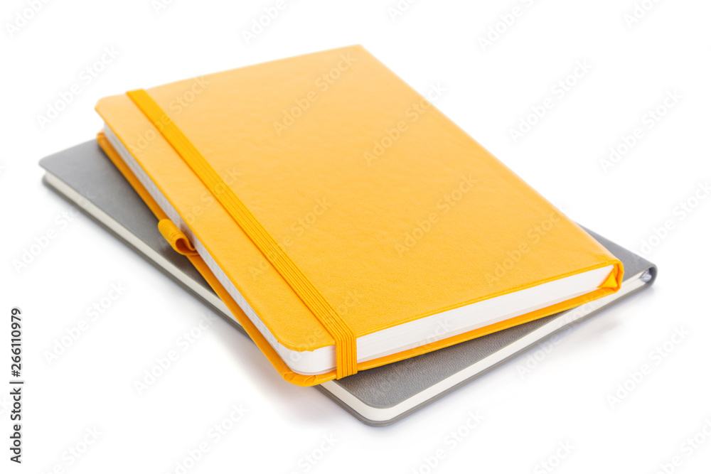 Fototapeta notebook or notepad isolated at white