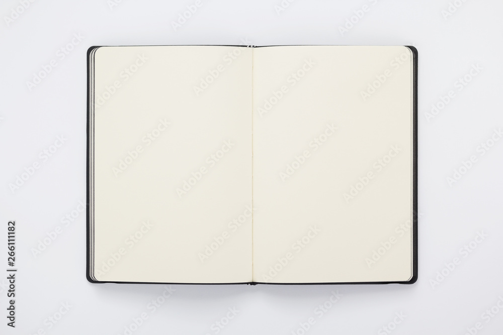 Fototapety, obrazy: notebook at white background