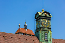 Rathaus-Uhr In Esslingen Am Neckar