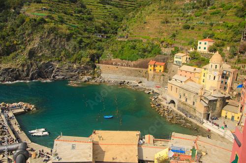 Fotobehang Liguria Scenes of Cinque Terre