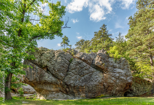 Photo Robbers Cave State park in  Oklahoma.