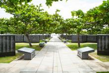 Cornerstone Of Peace In Okinawa,Japan