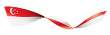 Singapore Flag, Vector Illustr...