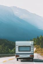 Travel RV Trailer Camper Road ...