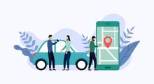 Car Sharing Service, Mobile Ci...