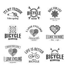 Vector Illustration Retro Bicy...