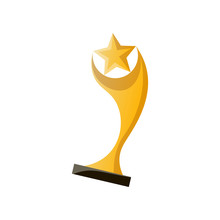 Gold Cinema Cup For Best Moder...