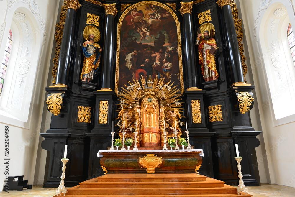 Fototapety, obrazy: Hauptaltar St. Paul (Passau)