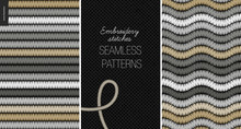 Embroidery Satin Stitch Seamle...