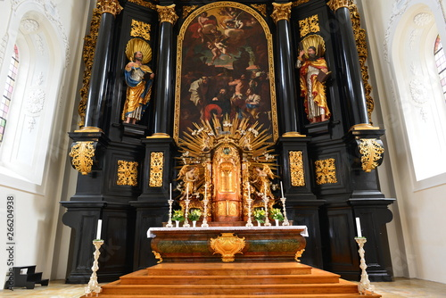 Fotografia, Obraz  Hauptaltar St. Paul (Passau)