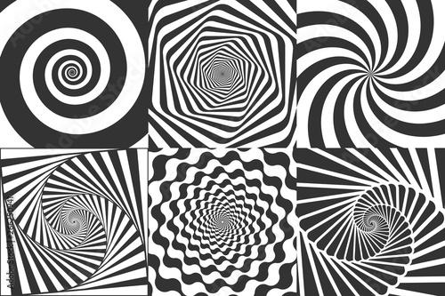 Cuadros en Lienzo Hypnotic spiral