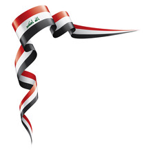 Iraqi Flag, Vector Illustratio...