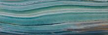 Agate Texture, Turquoise Sea B...