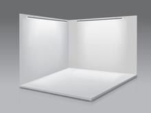 Blank Display Exhibition Stand...