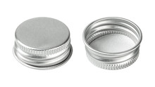 Silver Bottle Cap Isolated On ...