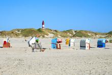 Amrum Strand Und Leuchtturm