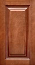 Wooden Cabinet Door Isolated. Kitchen Cupboard Cover