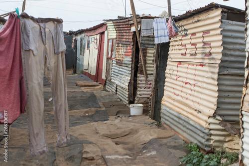 Fotografie, Obraz  township in johannesburg