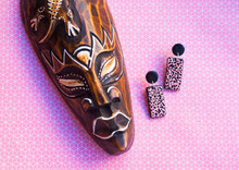 African Jewelry Flat Lay With ...