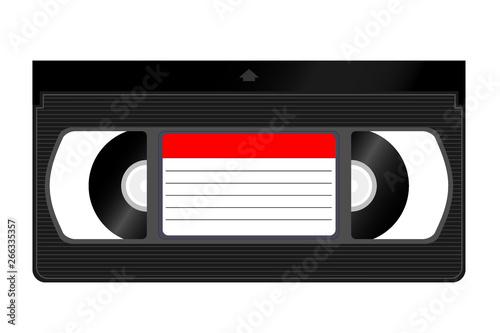 VHS, Video Home System Fototapet