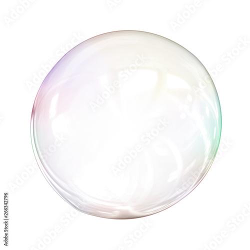 Photo soap bubble background illustration