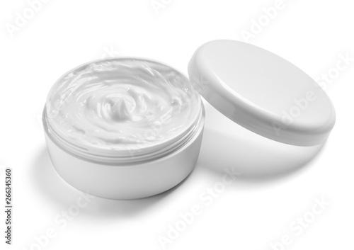 Cuadros en Lienzo white cream container jar beauty moisturizer skin
