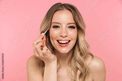 Beauty portrait of a lovely young woman Fototapet