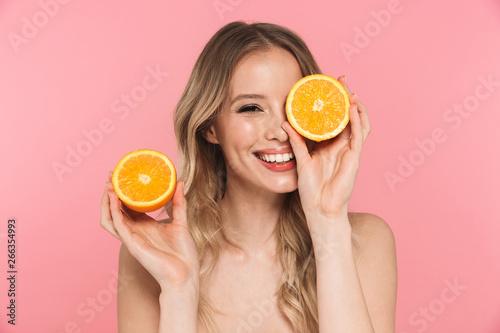 Fotografie, Obraz  Beauty portrait of a lovely young woman