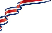 Costa Rica Flag, Vector Illust...