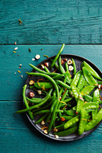 Green Bean Salad With Hazelnut...