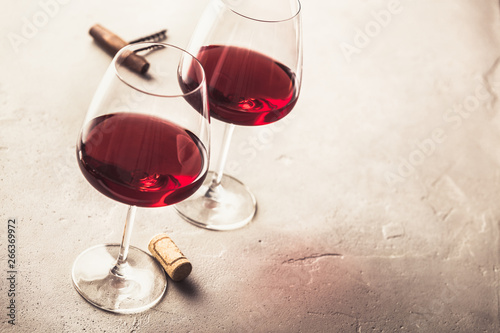 Stickers pour portes Vin red wine