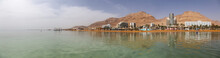 Panoramic View Of The Sandy Be...
