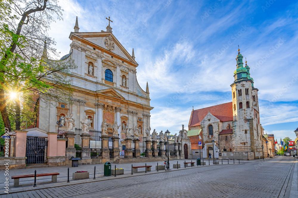 Fototapety, obrazy: Kościół w Krakowie