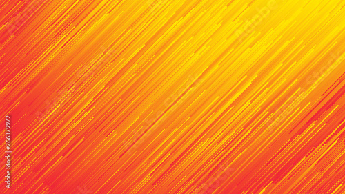 Dynamic Flow Bright Vivid Orange Red Gradient Lines Abstract