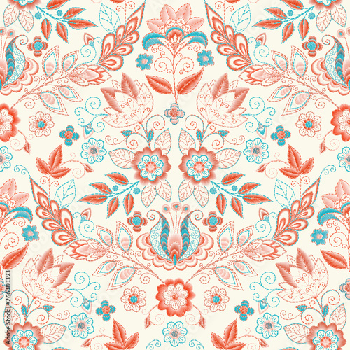 embroidery-seamless-pattern-with-beautiful-flowers-vector-handmade-floral-ornament-on-dark