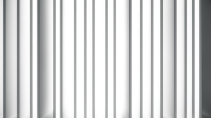White wall with light and shadow.  Abstract dividers sun rays background. 3d Rendering