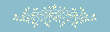 Ivy Vine Design With Leaves In...