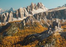 Fall Colors In The Dolomiti