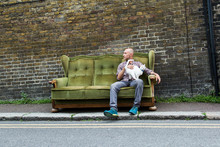 Couch On A Street