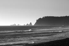 Pacific Ocean From Rialto Beach, Washington