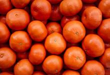 Oranges For Sale In Market
