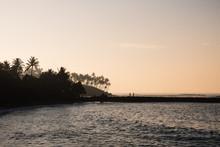 Morning Light Over The Ocean