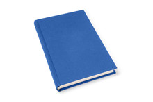 Blue Lying Hardcover Book Isol...