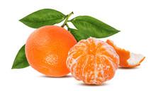 Tangerine Mandarin Fruit Isola...