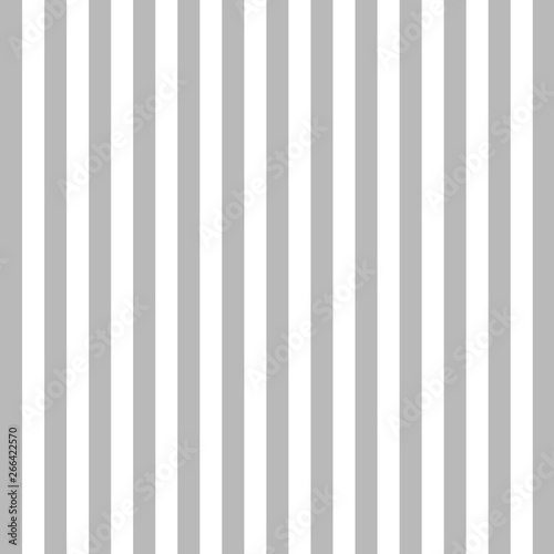 Gray vertical line background. Vector Wall mural