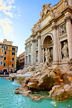 The Iconic Trevi Fountain At D...