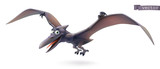 Fototapeta Dinusie - Pterodactyl. Pterosaur, flying dinosaur cartoon character. Funny animal 3d vector icon